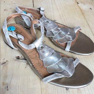 Indigo Gold Sandals